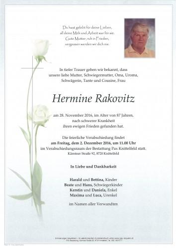 Hermine Rakovitz