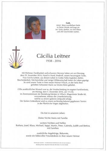 Cäcilia Leitner