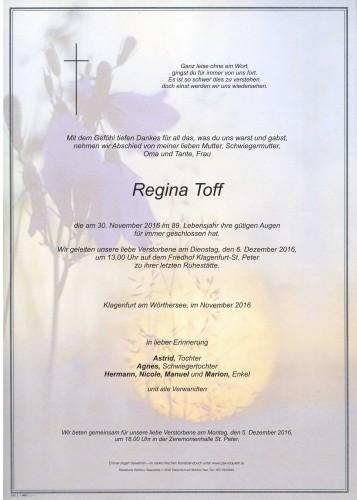 Regina Toff