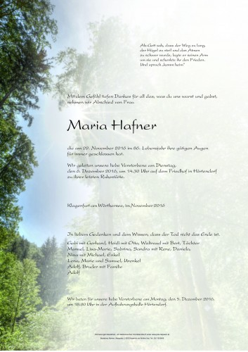 Maria Hafner