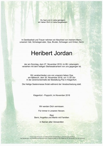 Heribert Jordan