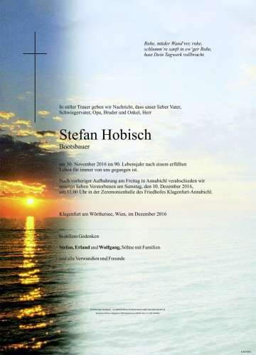 Stefan Hobisch