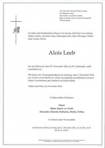 Alois Leeb