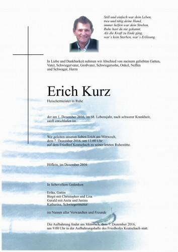 Erich Kurz