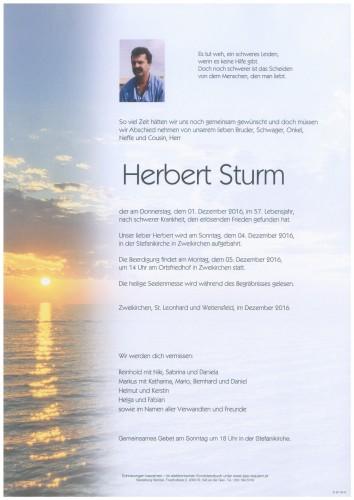 Herbert Sturm