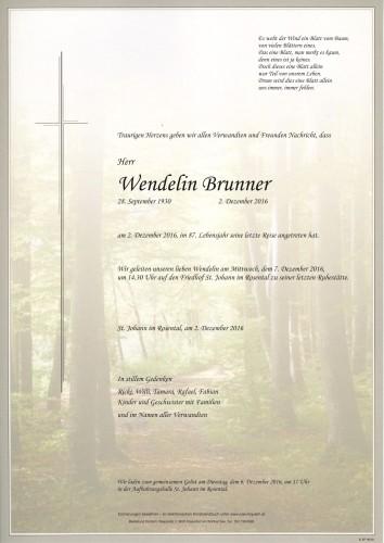 Wendelin Brunner