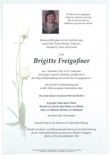 Brigitte Freigaßner