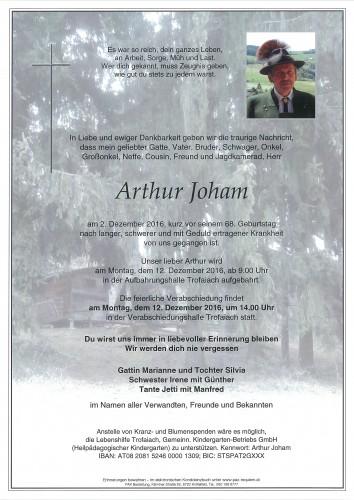 Arthur Joham