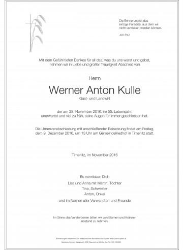 Werner Kulle