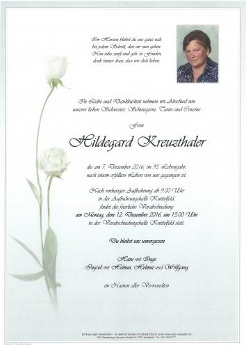 Hildegard Kreuzthaler