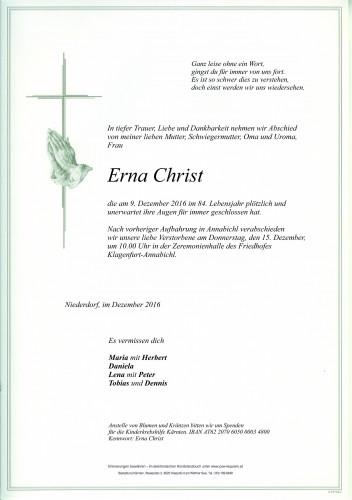 Erna Christ