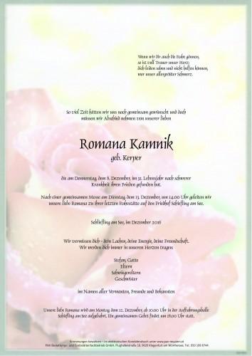 Romana Kamnik