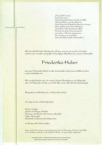 Friederika Huber