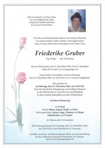 Friederike Gruber