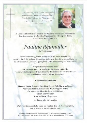 Pauline Reumüller