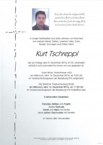 Kurt Tschreppl