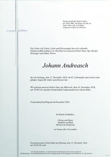 Johann Andreasch