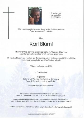 Karl Blüml