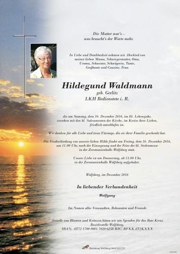 Hildegund Waldmann
