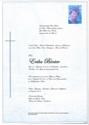 Erika Binter