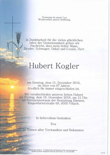 Hubert Kogler