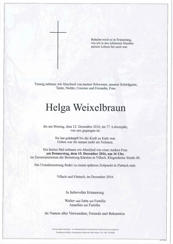 Helga Weixelbraun