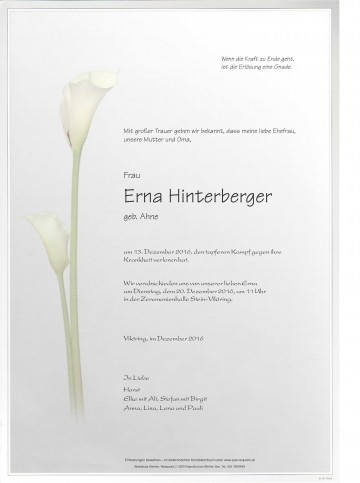 Erna Hinterberger