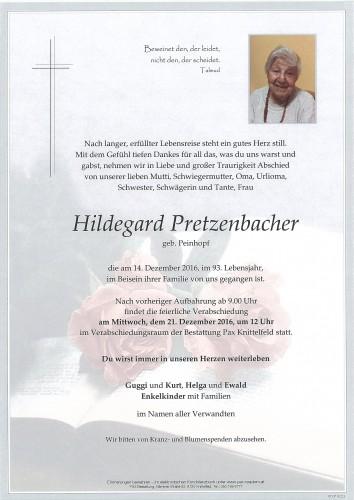 Hildegard Pretzenbacher