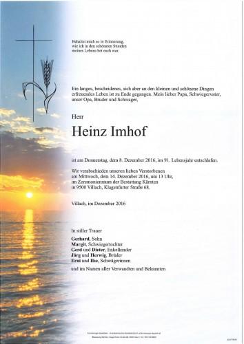 Heinz Imhof