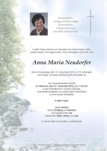 Anna Maria Neudorfer