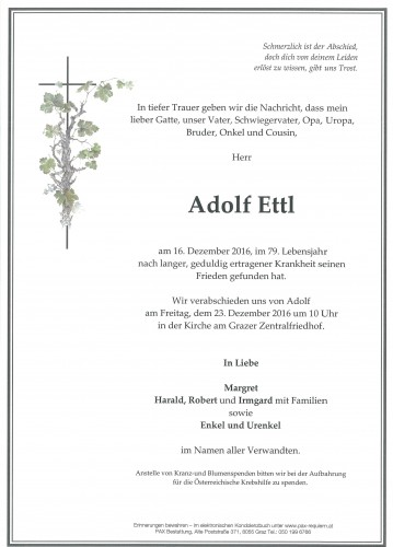 Adolf Ettl