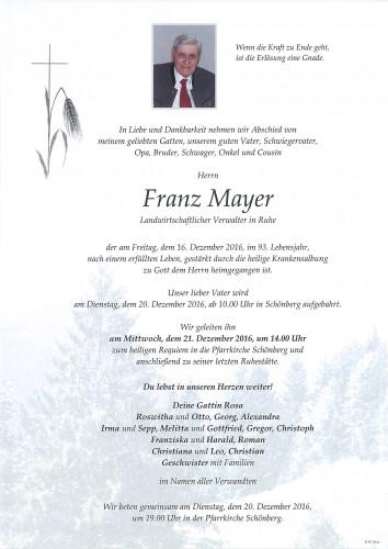 Franz Mayer