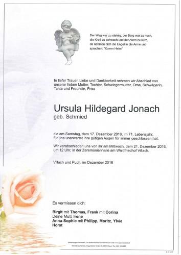 Ursula Hildegard Jonach