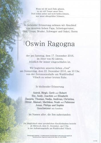 Oswin Ragogna
