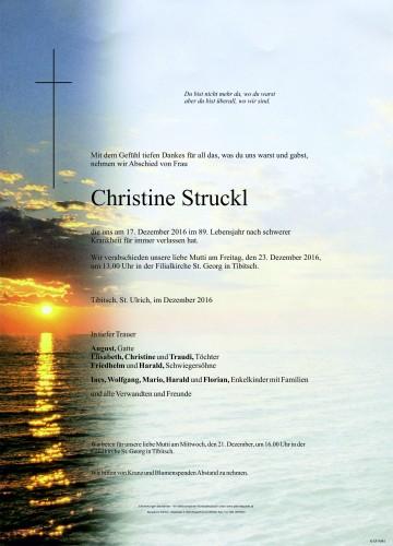 Christine Maria Struckl