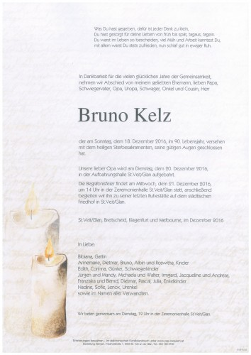 Bruno Kelz