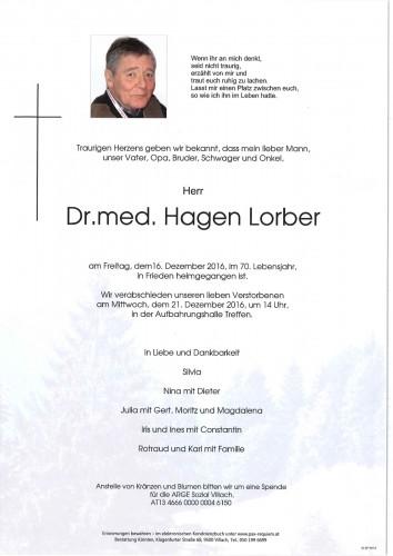 Hagen Lorber