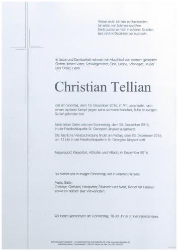 Christian Tellian