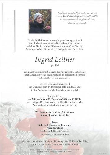 Ingrid Leitner