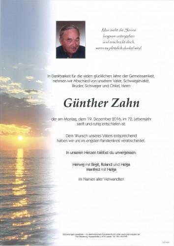 Günther Zahn