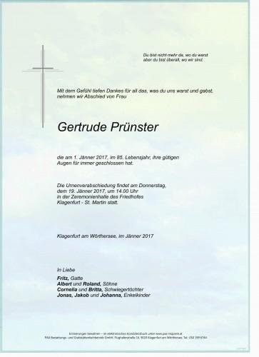 Gertrude Prünster