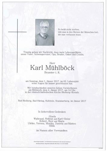 Karl Mühlböck