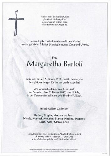 Margaretha Bartoli