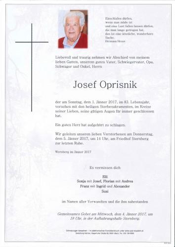 Josef Oprisnik