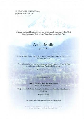 Anna Malle