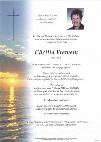 Cäcilia Frewein