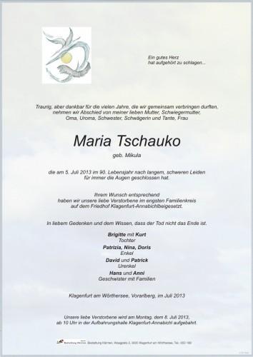 Maria Tschauko