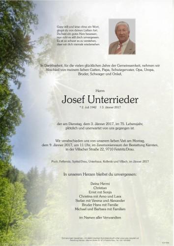 Josef Unterrieder