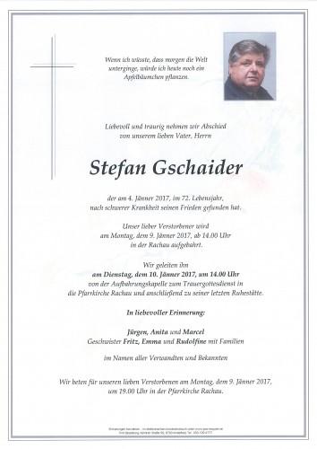 Stefan Gschaider