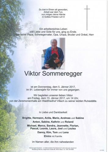 Viktor Sommeregger
